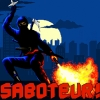 Saboteur! artwork