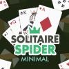 Solitaire Spider Minimal artwork