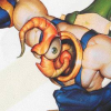 Earthworm Jim 2 (SAT) game cover art