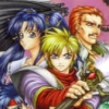 The Legend of Heroes I & II: Eiyuu Densetsu (SAT) game cover art