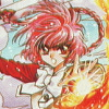 Magic Knight Rayearth (Saturn) artwork
