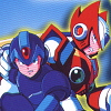 Mega Man X4 artwork