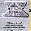 Thunder Storm LX-3 & Road Blaster (SAT) game cover art