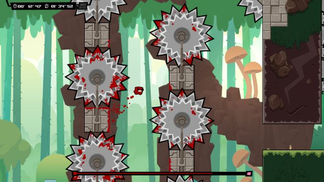 Super Meat Boy Forever brings protein and fluids to Sony and Microsoft consoles next week