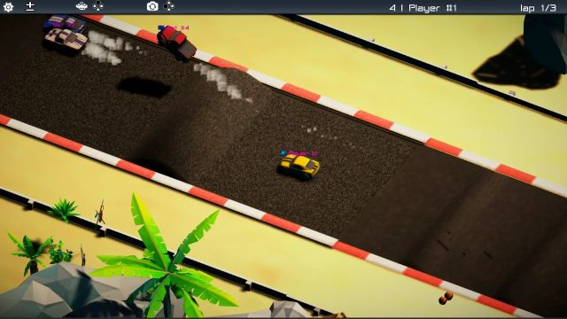 Turbo Skiddy Racing (Switch) screenshots and images