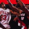 Bulls vs. Blazers and the NBA Playoffs artwork