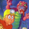 Digger T. Rock: The Legend of the Lost City (XSX) game cover art
