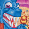 Trog (NES) artwork