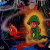 Knight Lore: Majou no Ookami Otoko (Famicom Disk System) artwork