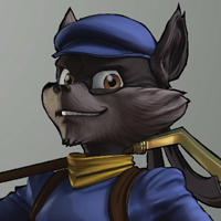 Sly Cooper: Thieves in Time (XSX) game cover art